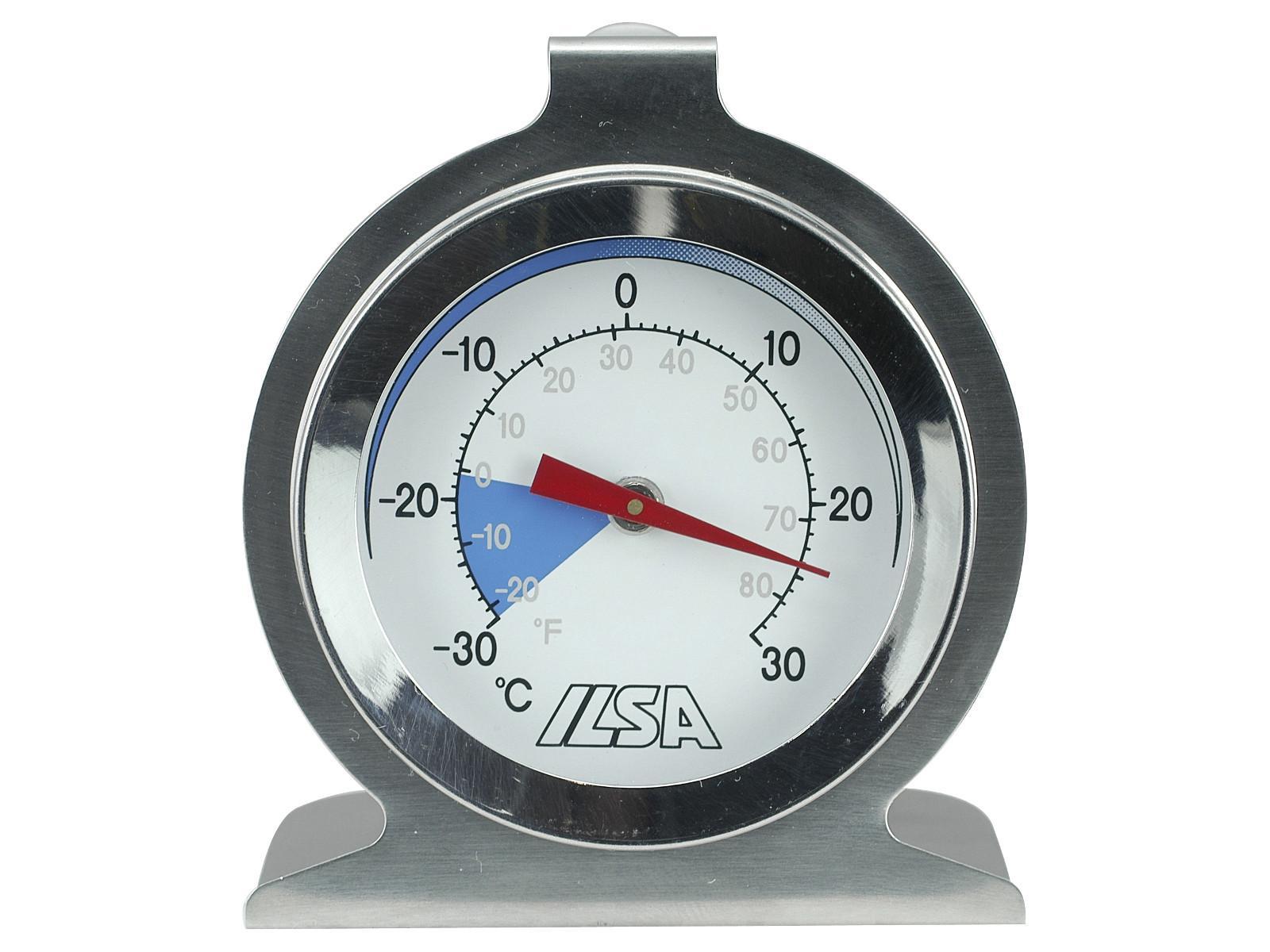 Kühlschrank Thermometer : Ilsa kühlschrankthermometer gefrierschrankthermometer edelstahl